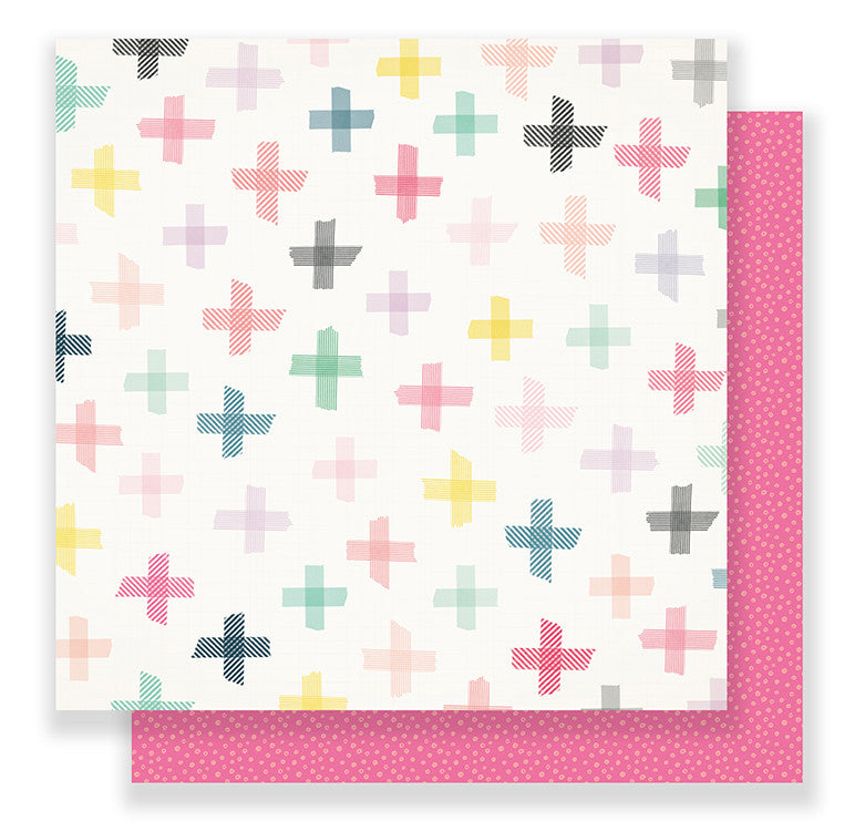 Crate Paper Papers - Maggie Holmes - Bloom - Blossom - 2 Sheets