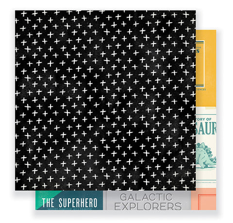Crate Paper Papers - Cool Kid - Boys Club - 2 Sheets