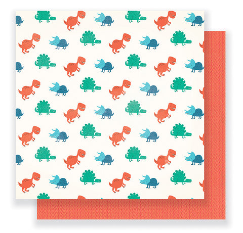 Crate Paper Papers - Cool Kid - Wild One - 2 Sheets