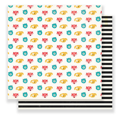 Crate Paper Papers - Cool Kid - Buddy - 2 Sheets