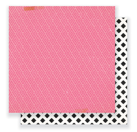 Crate Paper Papers - Cute Girl - Giggle - 2 Sheets