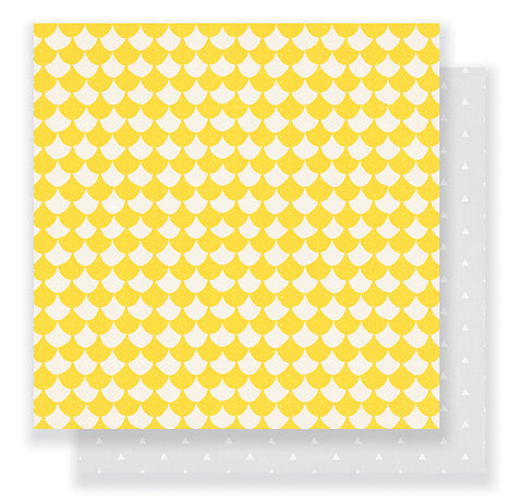Crate Paper Papers - Cute Girl - Cheery - 2 Sheets