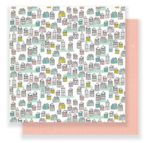 Crate Paper Papers - Cute Girl - Make Believe - 2 Sheets