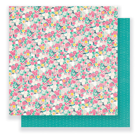 Crate Paper Papers - Cute Girl - Fancy - 2 Sheets