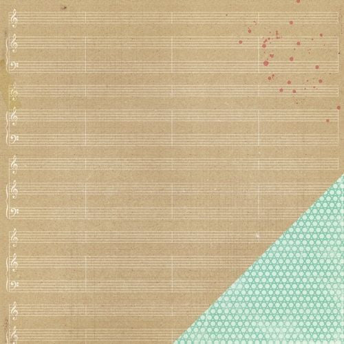 Crate Paper Papers - Style Board - Melody - 2 Sheets