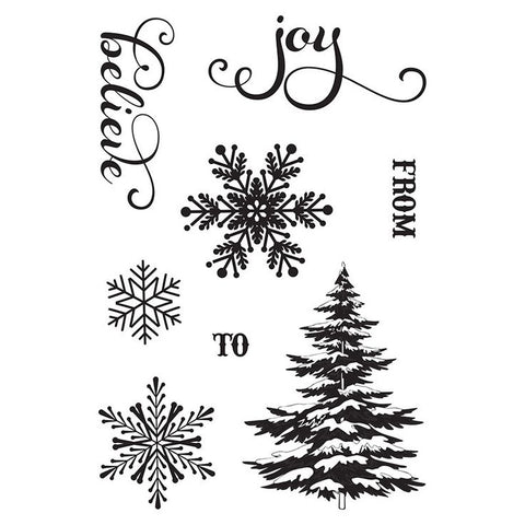 Photo Play Clear Stamp Set - Holiday Cheer