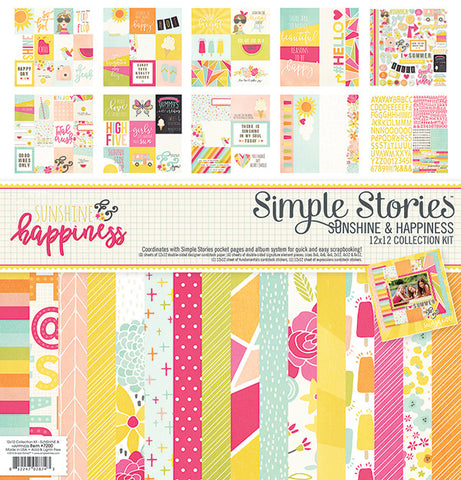 Simple Stories Collection Kit - Sunshine and Happiness