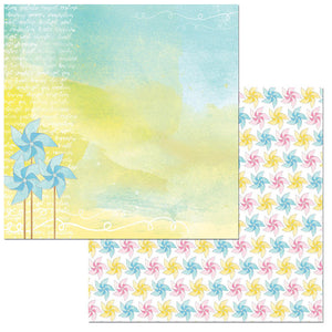 Bo Bunny Papers - Summer Mood - Surprise - 2 Sheets