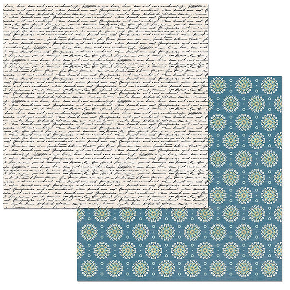 Bo Bunny Papers - Early Bird - Notes - 2 Sheets