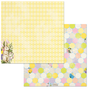 Bo Bunny Papers - Cottontail - Fun - 2 Sheets