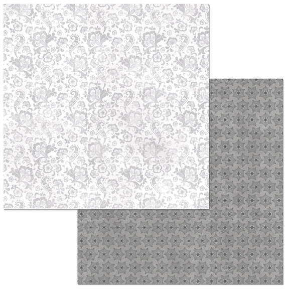 Bo Bunny Papers - Black Tie Affair - Elegant - 2 Sheets