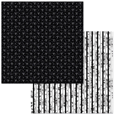 Bo Bunny Papers - Black Tie Affair - Sophistication - 2 Sheets