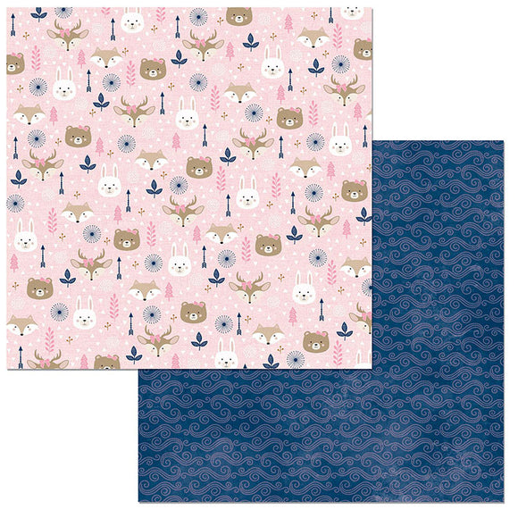 Bo Bunny Papers - Little Wonders - Olivia - 2 Sheets