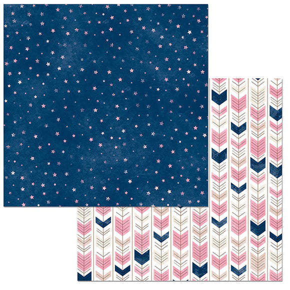 Bo Bunny Papers - Little Wonders - Sage - 2 Sheets