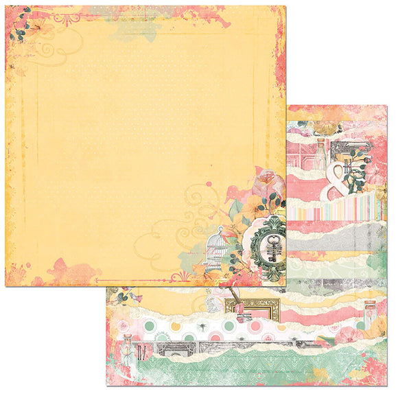 Bo Bunny Papers - Sunshine Bliss - Sunshine Bliss - 2 Sheets
