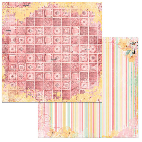 Bo Bunny Papers - Sunshine Bliss - Charm - 2 Sheets