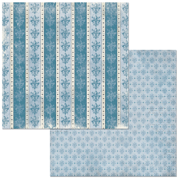 Bo Bunny Papers - Boulevard - Du Parc - 2 Sheets