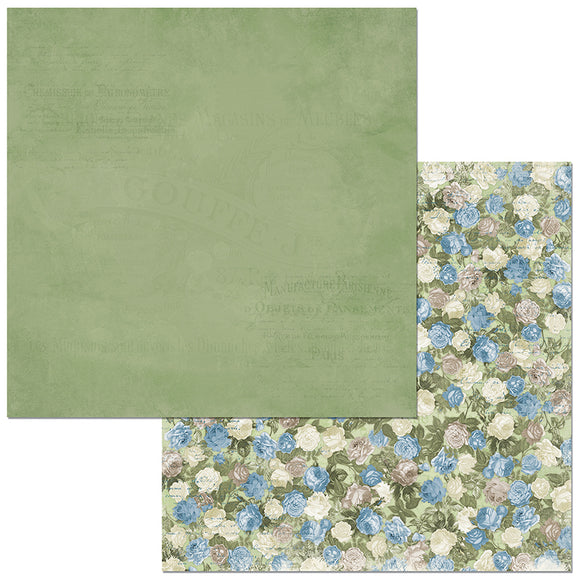 Bo Bunny Papers - Boulevard - Des Roses - 2 Sheets