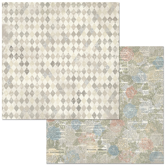Bo Bunny Papers - Boulevard - Versailles - 2 Sheets