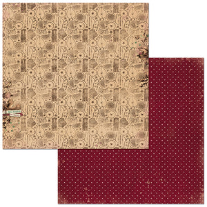 Bo Bunny Papers - Christmas Treasures - Wassail - 2 Sheets