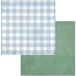 Bo Bunny Papers - Garden Grove - Blanket - 2 Sheets