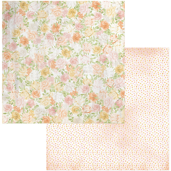 Bo Bunny Papers - Garden Grove - Spring - 2 Sheets