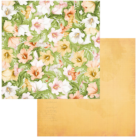 Bo Bunny Papers - Garden Grove - Vibrant - 2 Sheets