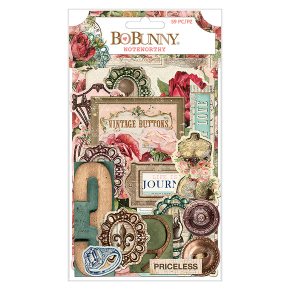 Bo Bunny Noteworthy Die-Cuts - Family Heirlooms
