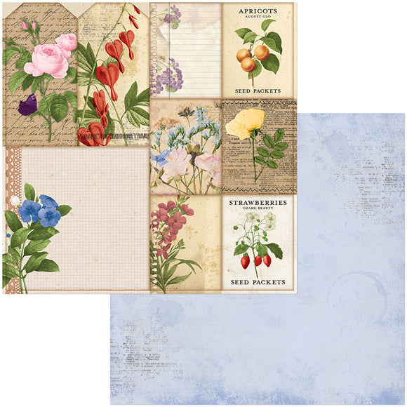 Bo Bunny Cut-Outs - Botanical Journal - Packets