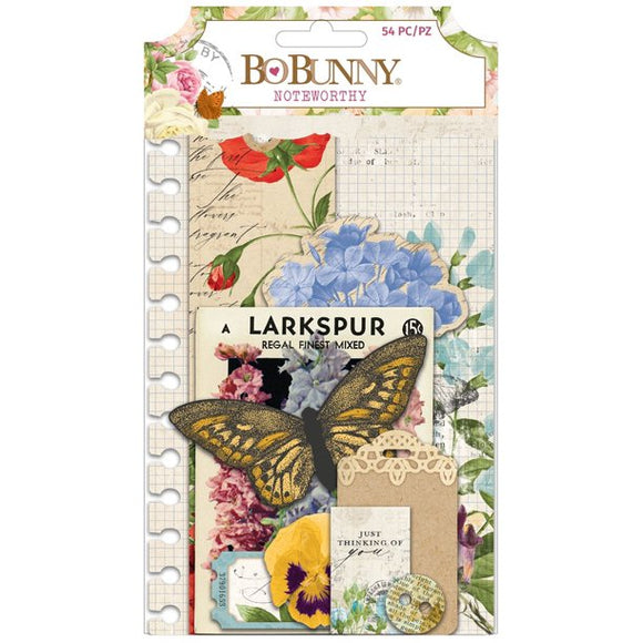 Bo Bunny Noteworthy Die-Cuts - Botanical Journal