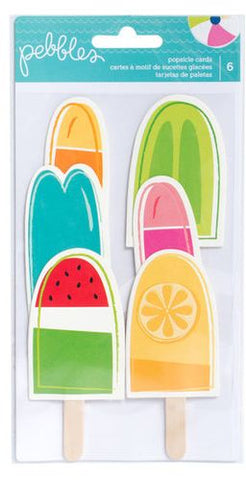 American Crafts Card Pack - Popsicles