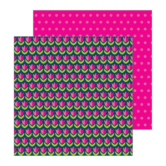 Pebbles Papers - Jen Hadfield - Patio Party - Tulips - 2 Sheets