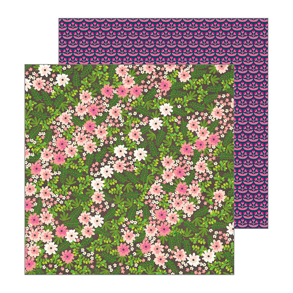 Pebbles Papers - Jen Hadfield - Patio Party - Wandering Wildflowers - 2 Sheets