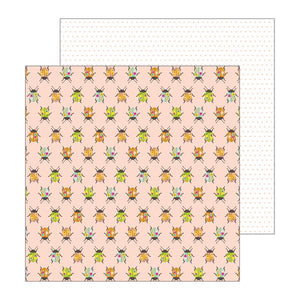 Pebbles Papers - Jen Hadfield - Patio Party - Painted Beetles - 2 Sheets