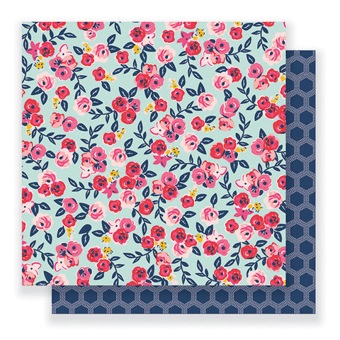 Pebbles Papers - Jen Hadfield - Everyday - Floral Skies - 2 Sheets