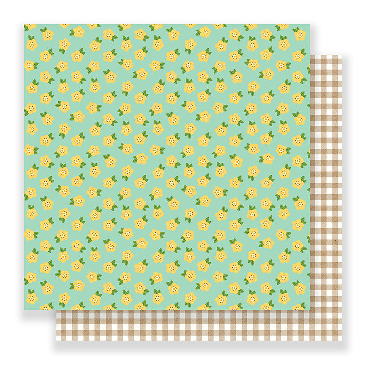 Pebbles Papers - Spring Fling - Blossoms - 2 Sheets