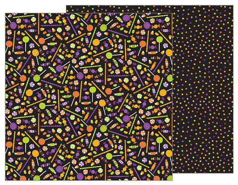 Pebbles Papers - Trick or Treat - Trick or Treat - 2 Sheets