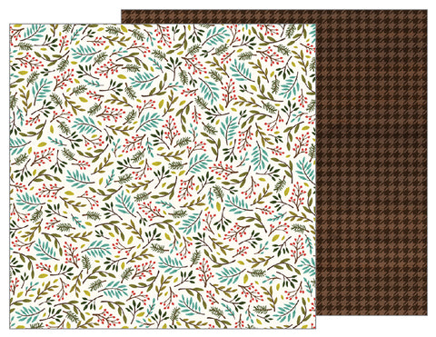 Pebbles Papers - Warm & Cozy - Sprigs - 2 Sheets