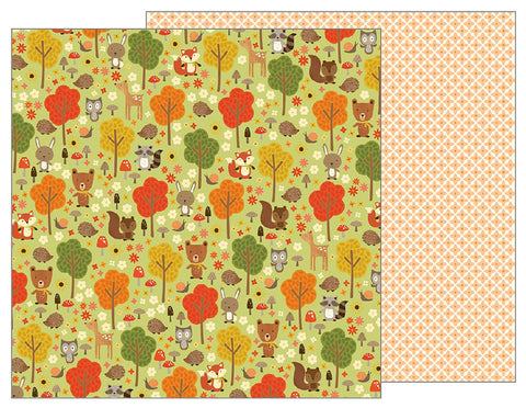 Pebbles Papers - Woodland Forest - Woodland Forest - 2 Sheets