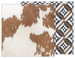 Pebbles Papers - Jen Hadfield - Simple Life - Cowhide - 2 Sheets