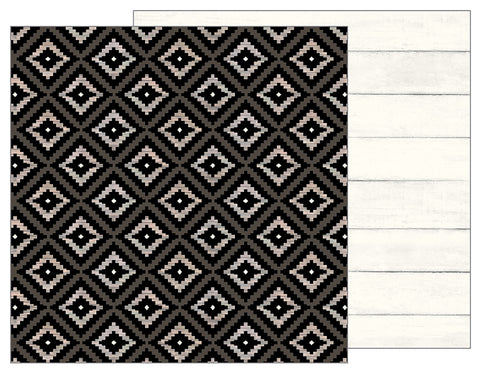 Pebbles Papers - Jen Hadfield - Simple Life - Aztec - 2 Sheets