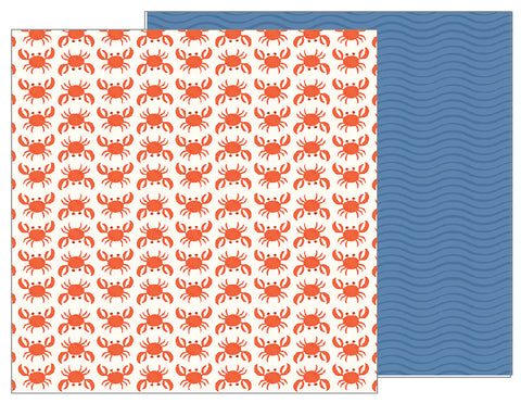 Pebbles Papers - Sunshiny Days - Beach Day - 2 Sheets