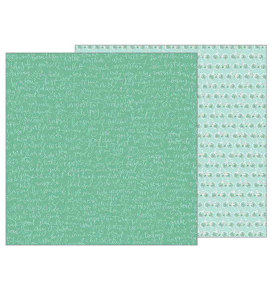 Pebbles Papers - Girl Squad - Happy Day - 2 Sheets