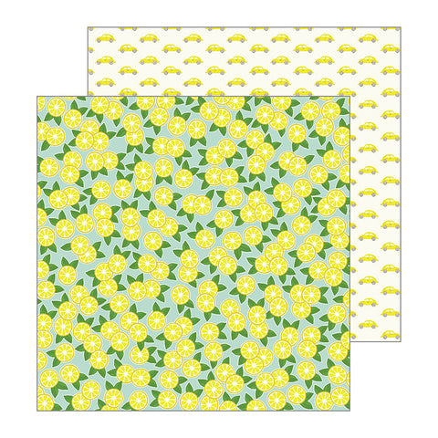Pebbles Papers - Jen Hadfield - My Bright Life - Lemons - 2 Sheets