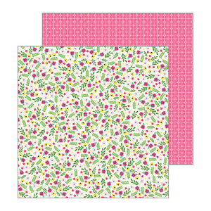 Pebbles Papers - Jen Hadfield - My Bright Life - Flower Pop - 2 Sheets