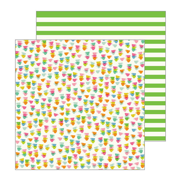 Pebbles Papers - Jen Hadfield - My Bright Life - Cup of Tea - 2 Sheets