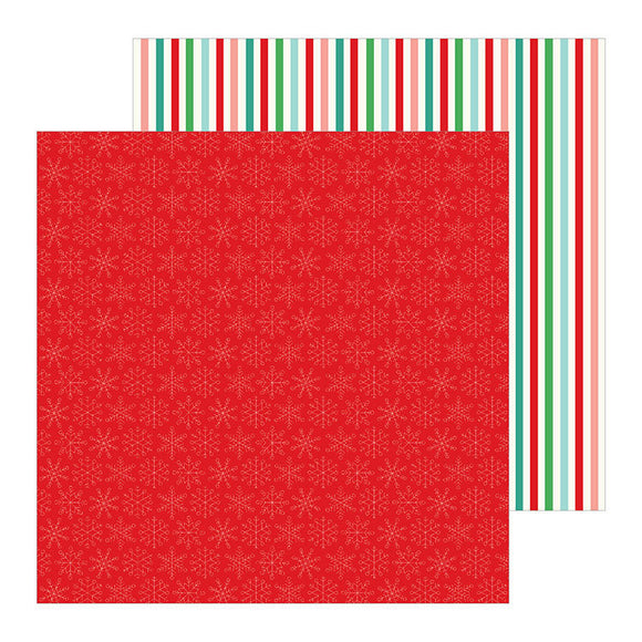 Pebbles Papers - Cozy & Bright - Merry & Bright - 2 Sheets