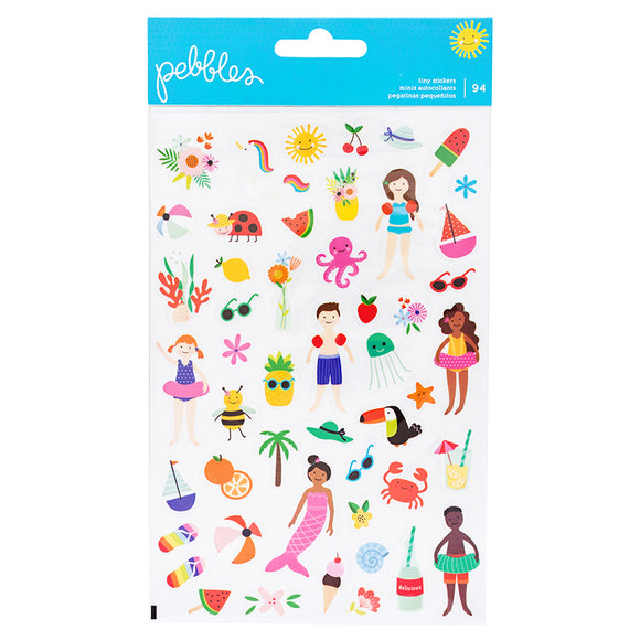 Pebbles Tiny Stickers - Oh Summertime