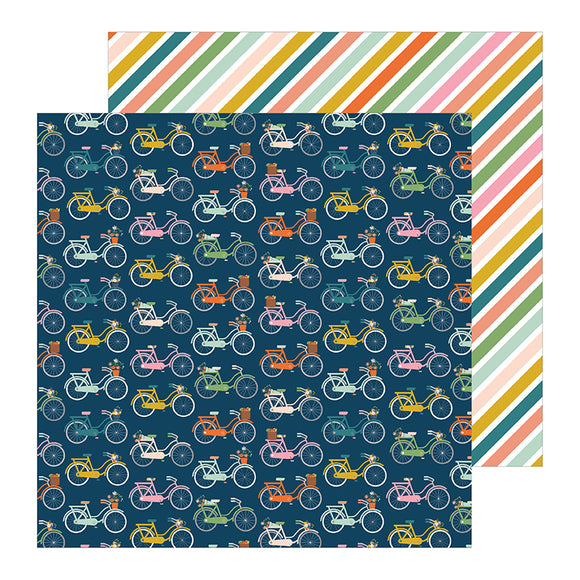 Pebbles Papers - Jen Hadfield - This Is Family - Bike Ride - 2 Sheets