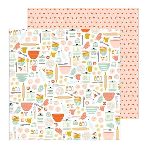 Pebbles Papers - Jen Hadfield - This Is Family - Baking Day - 2 Sheets
